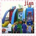 5*3 м все-в-одном спортивной арене надувной спортивные игры, гигантские надувные игры для взрослых и детей