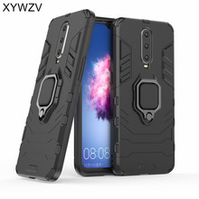 Armor Case Oppo RX17 Pro Silicone Cover Metal Finger Ring Holder For R17 Magnetic Phone Fundas