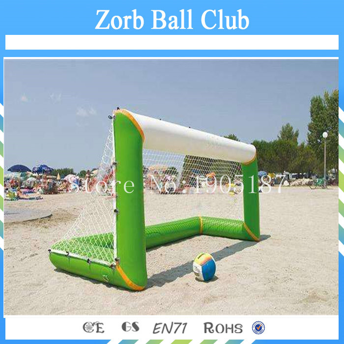 Free Shipping Inflatable Water Polo Goal With Customized Design For Aqua Sport Play Equipment funny summer inflatable water games inflatable bounce water slide with stairs and blowers