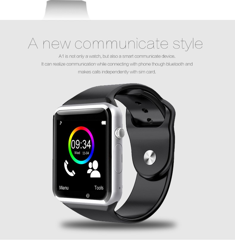 A1 WristWatch Bluetooth Smart Watch 0041
