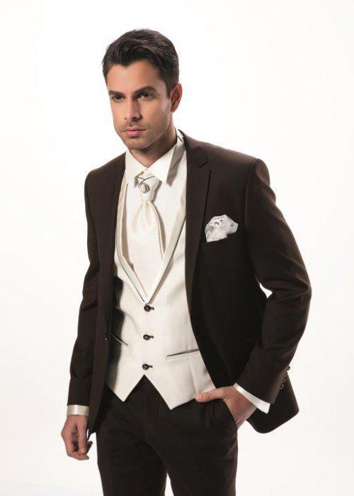 Online Buy Wholesale groom brown suit from China groom brown suit ...