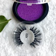 3D Multi-layered Faux Mink Eyelashes Fluffy Volume Lashes Natural Look Layered Effect Reusable 100% Handmade Cruelty-Free