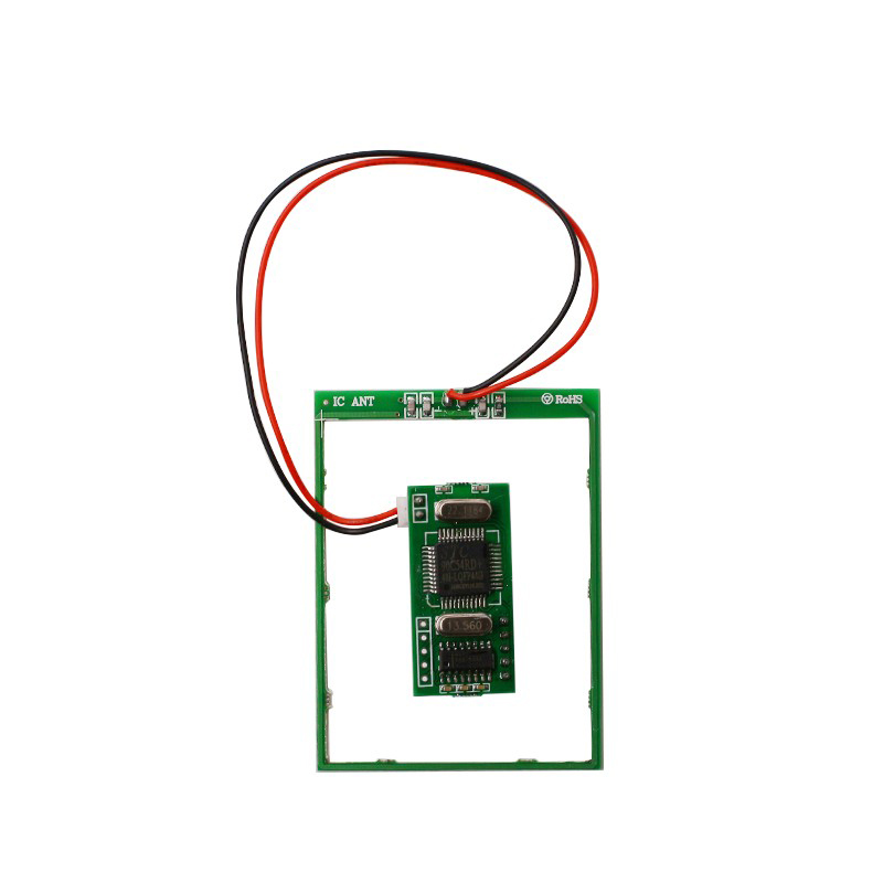 где купить ISO15693 13.56mhz rfid read/write module with RS232 interface support I-Code2 compatible card used for security по лучшей цене