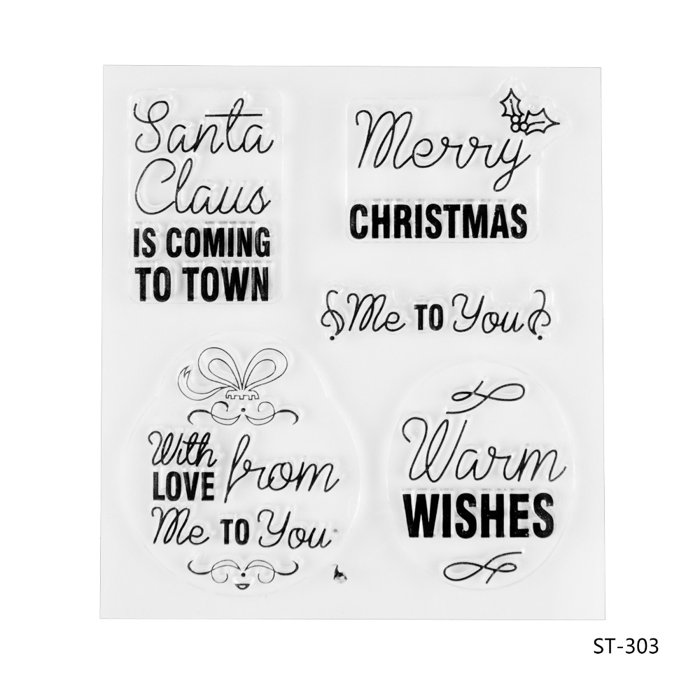 Christmas season Silicone Transparent Stamp Clear Stamps Set for DIY Scrapbooking Photo Album Decoration Supplies пена монтажная mastertex all season 750 pro всесезонная