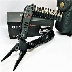 Ganzo 29 en 1 negro G302B G302H Acero inoxidable plegable Multi alicates herramientas de supervivencia al Aire Libre juegos de herramientas para el hogar
