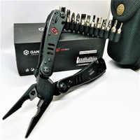 Ganzo 29 in 1 schwarz G302B G302H edelstahl Folding Multi Zange werkzeuge protable im freien überleben haushalt werkzeug sets