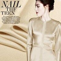 The Classic London Lattice Import Silk Doupion Silk Satin Cloth Fabric Tess