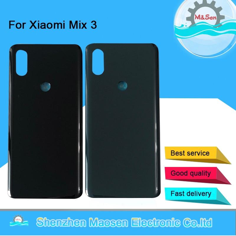Original M Sen For 6 39 Inch Xiaomi Mi Mix3 MiMix 3 Ceramic Back Battery Cover
