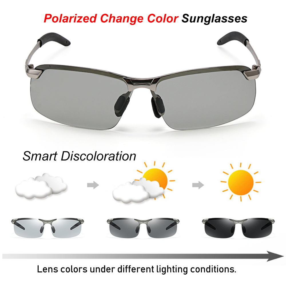Polarized-Sunglasses-Men/'s-Driving-Outdoor-Sports-Eyewear-100/%-UV400-Glasses