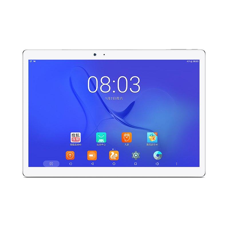 Original Teclast T10 Hexa Core Tablet PC 10.1'' IPS 2560*1600 Android 7.0 MT8176 2.1GHz 4GB LPDDR3 64GB eMMC 8.0MP+13.0 MP HDMI new arrives teclast x98 air ii quad core 9 7inch tablet pc z3736f 2g lpddr3 32g emmc 2048x1536 hdmi