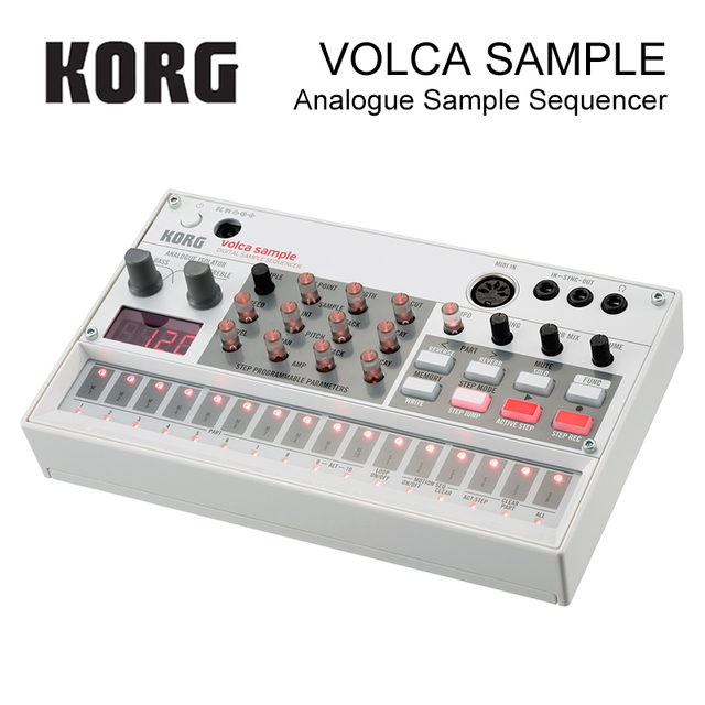 Korg Volca Sample Playback Rhythm Machine Tweak, Play, and Sequence Samples Volca Style 1