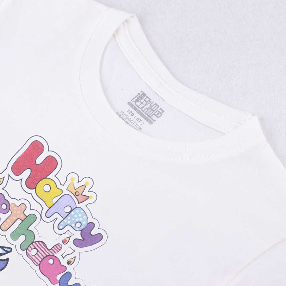 2019 New Goods Kids T Shirt For Children Pony Unicorn Birthday 100 Cotton Girls