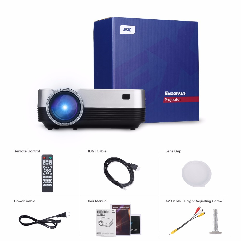 Excelvan Q6 Upgraded Mini Portable 1800 Lumens Touch Panel LED Projector Multimedia Video Proyector Support 1080P HDMI VGA (14)