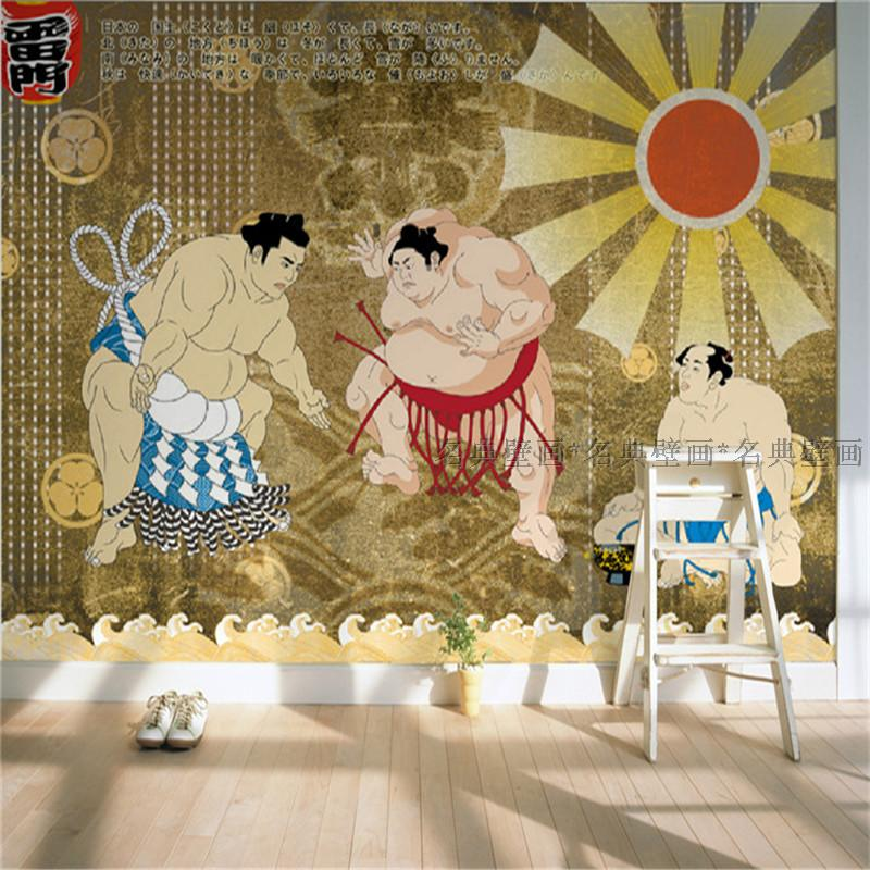 3d wallpaper for wall 3d mural 3d wallpaper japanese sushi for Asian wallpaper mural