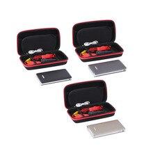 Nueva 30000 mAh 12 V Portátil Coche Salto de Arranque de Refuerzo Paquete de LED Cargador de Batería de Energía Portátil Banco de Potencia De Arranque de Emergencia suministro