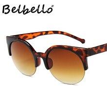 Belbello Women Semi-Rimless Sunglasses W