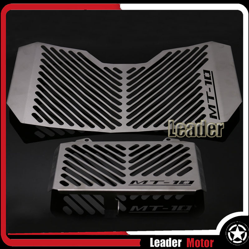 For YAMAHA MT-10 MT10 2016-2017 Motorcycle Accessories Radiator Grille Guard Cover & Oil Cooler Guard Cover for yamaha xjr 1300 xjr1300 1998 2008 99 00 01 02 03 04 05 06 07 motorcycle oil cooler protector grille guard cover