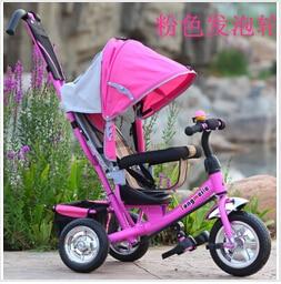 Детская детская коляска велосипед трехколесный велосипед корзина велосипед ездить на машине на открытом воздухе спортивные товары игрушки подарки для детей девочки мальчики 2015