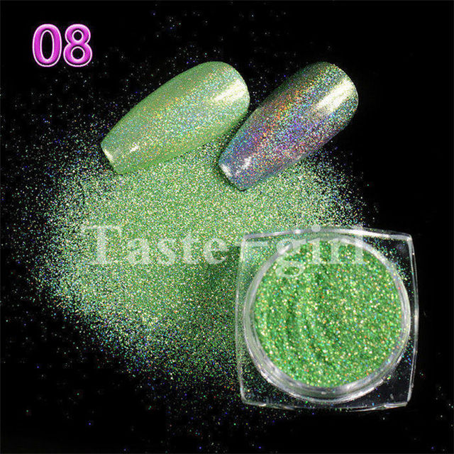 6048adf84d US $0.59 40% OFF|1 Pot Neon Crystal Nail Glitter Pigment Super Shine Mirror  Sequins Nail Art Holographic Chrome Dipping Powders Nail Decorations-in ...