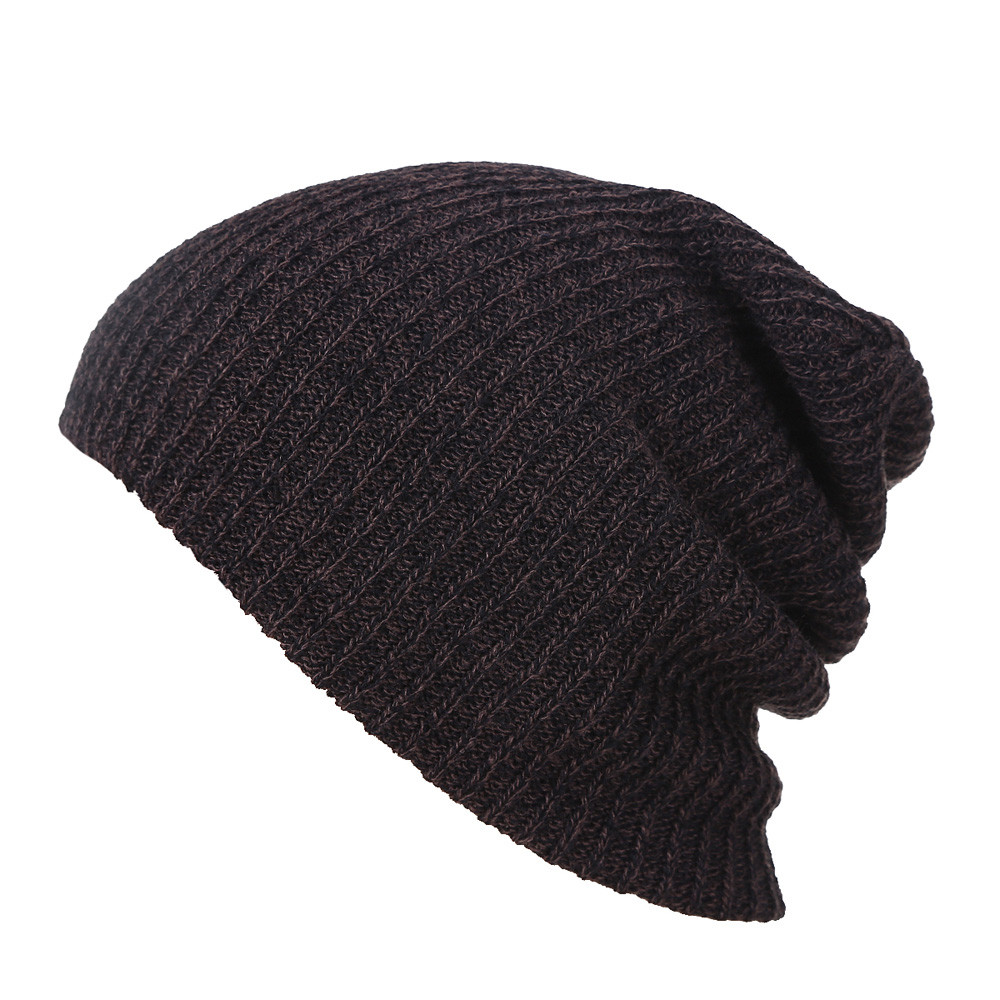 Winter Hats Beanies For Men Beanie Hat Knitted Caps Bonnet Mens Skullies Hat Slouchy Baggy Knit Ski Cap #423 brand skullies winter hats for men bonnet beanies knitted winter hat caps beanie warm baggy cap gorros touca hat 2016 kc010