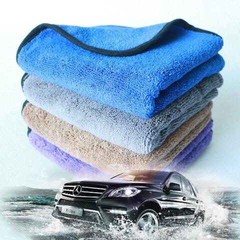 4 pecas engrossado fibras ultrafinas de super absorcao de agua toalha de limpeza pano de