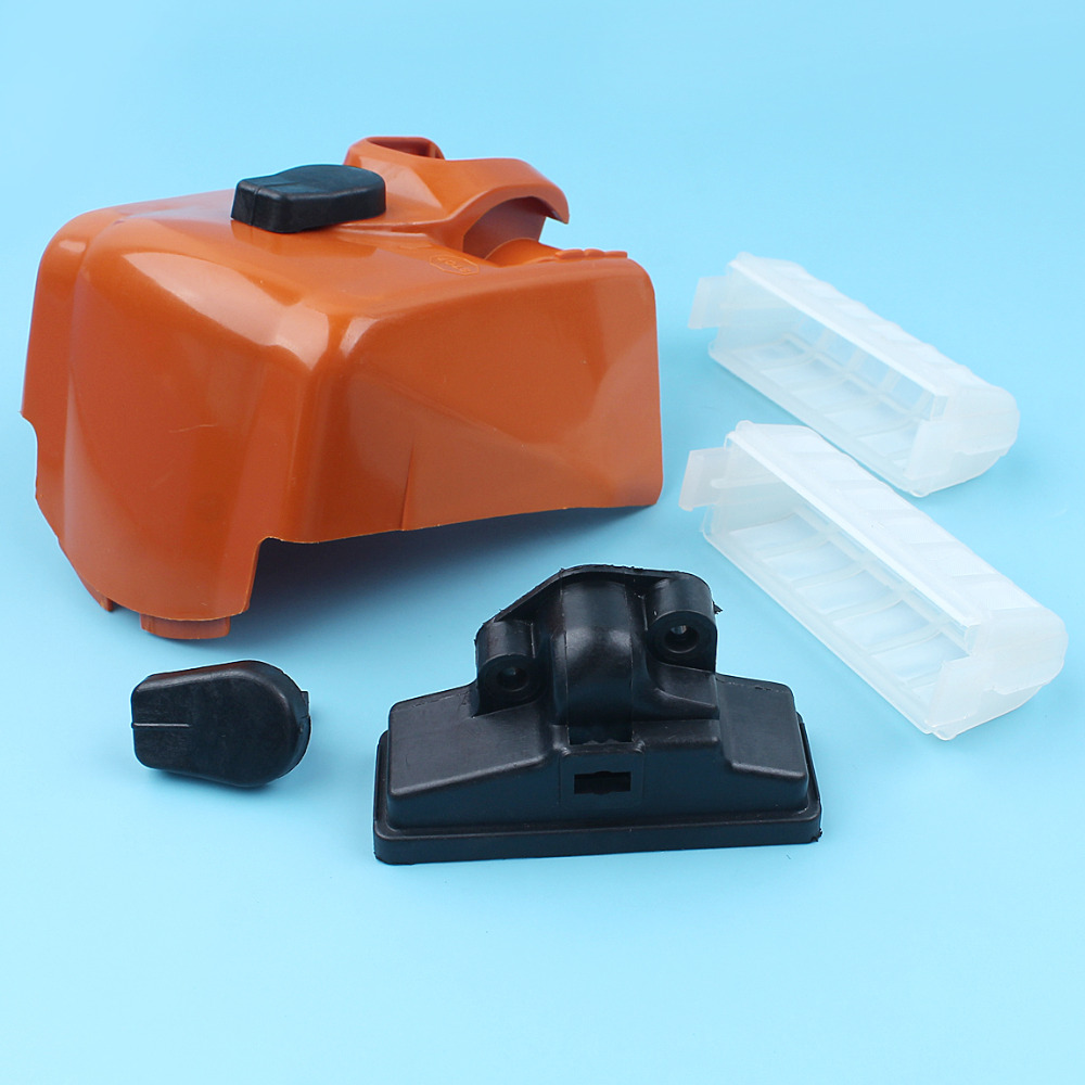 Air Filter & Cover W/ Twist Lock Knob Kit For Stihl MS210 MS230 MS250 023 025 MS 210 230 250 Chainsaw Replacement Parts