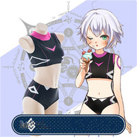 Japan Swimwear Sukumizu Fate/Apocrypha Cosplay Costume Jack the Ripper Japanese Swimsuit School Uniform Bodysuit