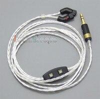 6N PCOCC + чистого серебра сплава кабель наушников для JH Audio сирены Роксана JH24 LN004751
