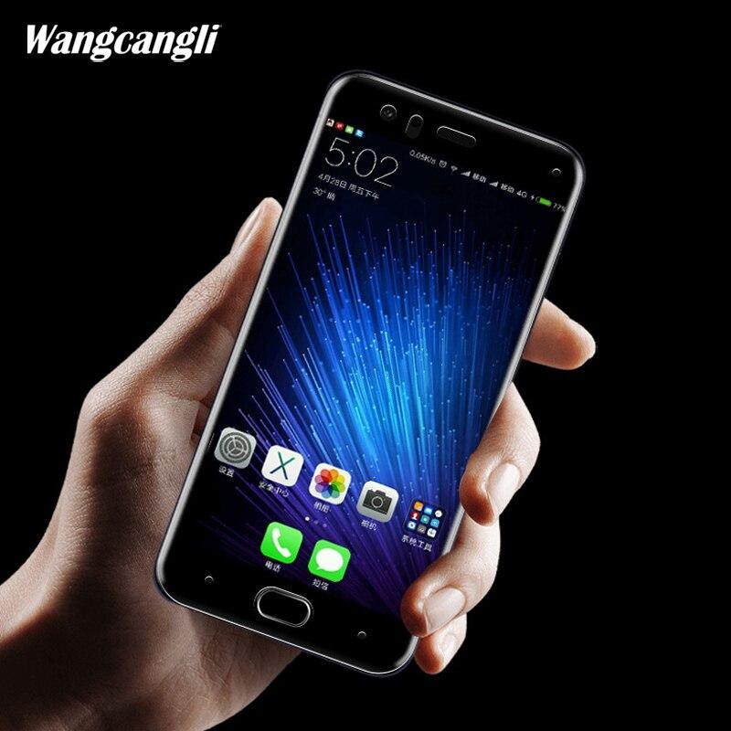 wangcangli 2pcs Bale for xiaomi mi a1 5x 5s plus screen protector mi 5x a1 Protective glass film 3D full coverage Soft edge