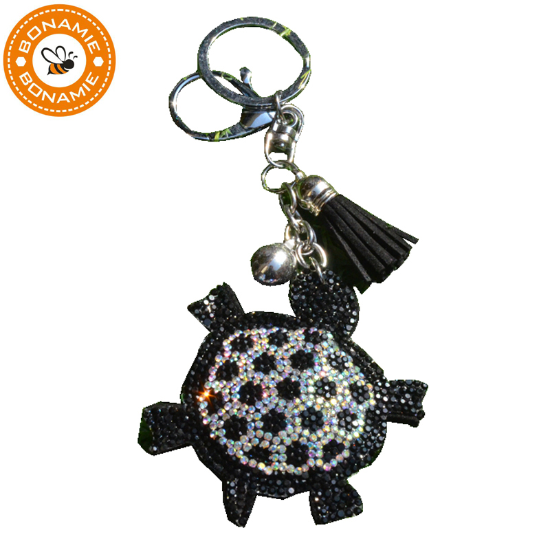 BONAMIE Turtle Bag Decoration Bag Hanger Ornament Sequins Jewelry Leather Pendant Gift C ...