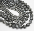 Natural Stone Beads Labradorite Larvikite Round Loose Beads For Jewelry Making 15.5inch/strand Pick Size 4 6 8 10 12 14mm-F00115