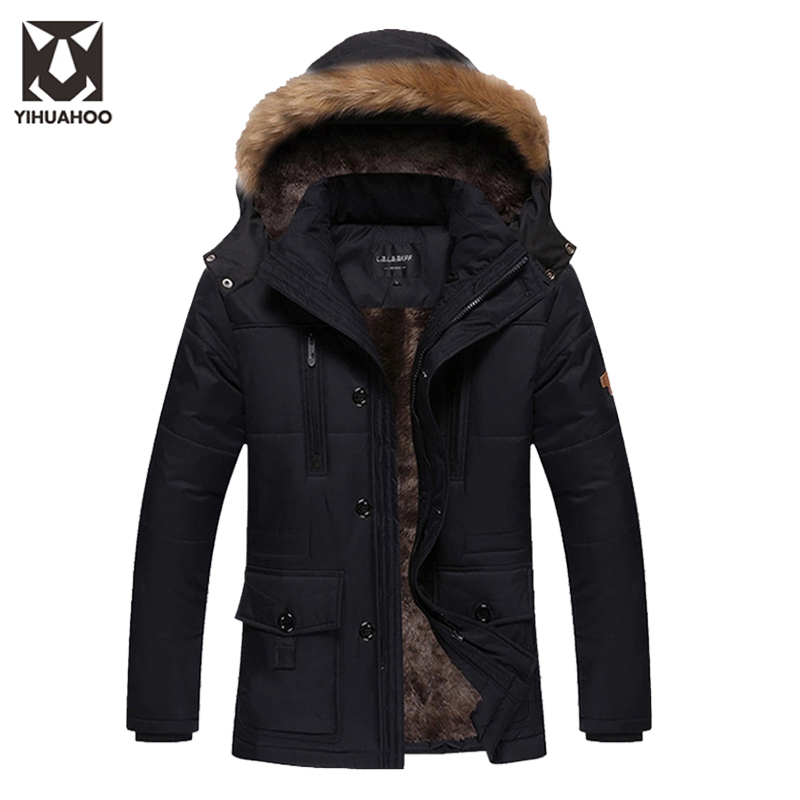 Plus Size 4XL 5XL Cotton Winter Jacket Men Casual Windbreakers Male Thick Warm Parkas Hombre Chaqueta Invierno Hombre DJ02602 free shipping winter parkas men jacket new 2017 thick warm loose brand original male plus size m 5xl coats 80hfx