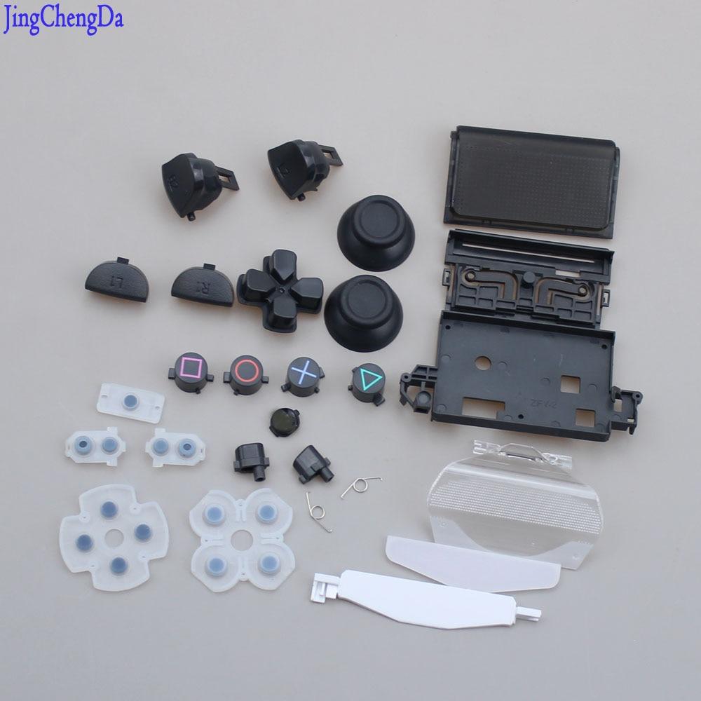 For Sony PS4 Pro JDS040 Controller Gamepad Dualshock 4 Pro Joysticks Cap Dpad R1/L1/R2/L2 Direction Key Bullet ABXY Buttons+Crew