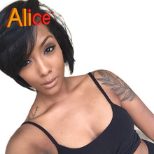 Best 7A Straight Wig Brazilian Virgin Full Lace Wig Human Hair Lace Front Wigs Full Lace Human Hair Wigs With Baby Hair