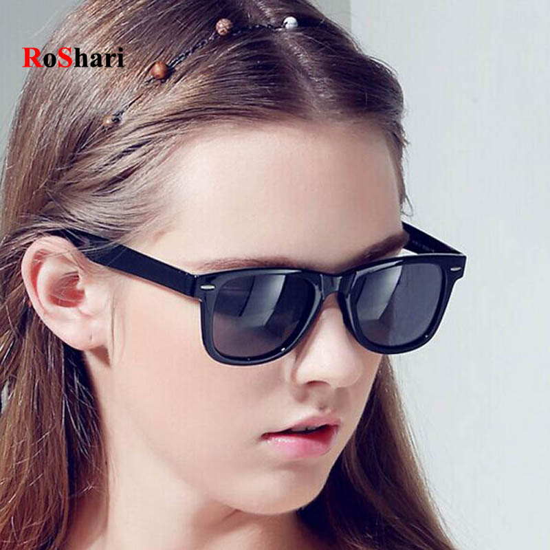 RoShari Classic Sunglasses Men vintage Sun Glasses Women Original Brand Designer Sunglass Unisex oculos gafas de sol T1