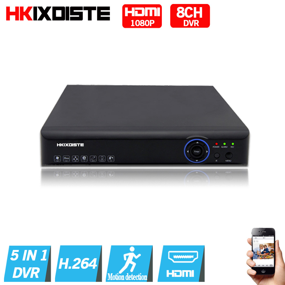 Фотография  4CH/8CH AHD-NH AHDNH DVR AHD-M DVR/1080N TVI CVI AHD DVR 5 IN 1 HDMI Output 4CH Audio In For AHD AHDH CCTV Camera