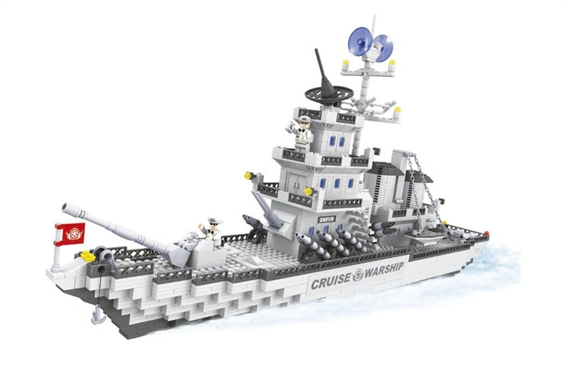 model building kits compatible with lego city warship 543 3D blocks Educational model & building toys hobbies for children model building kits compatible with lego city tank 846 3d blocks educational model