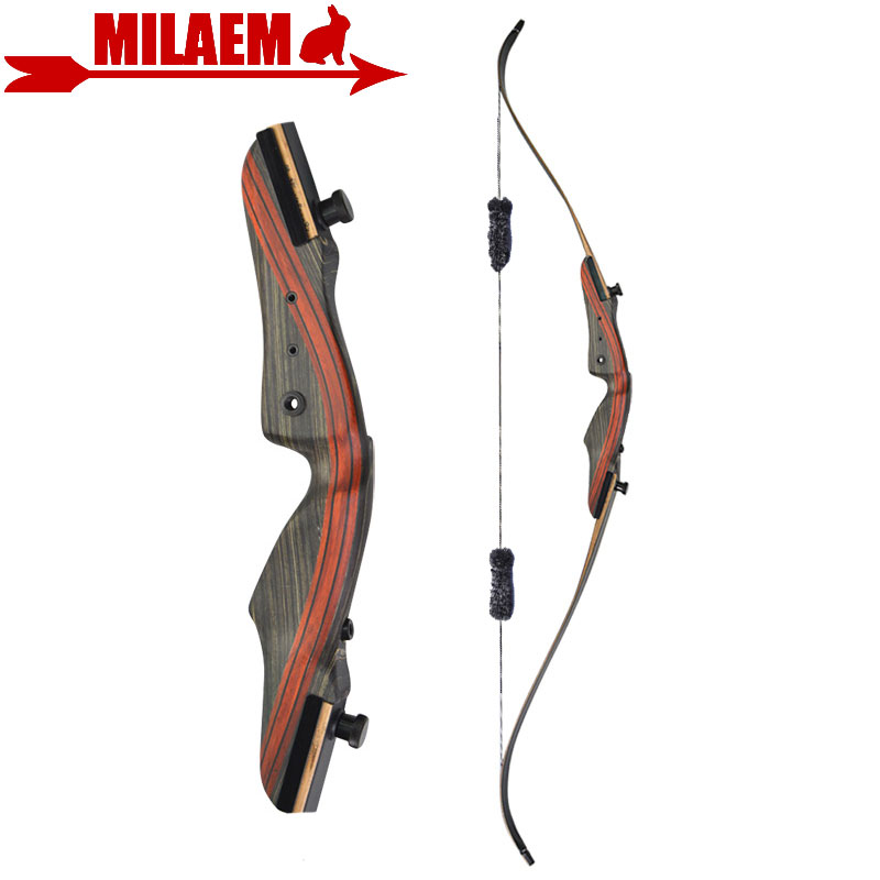 1pc 62inch 20 50lbs Archery Recurve Bow With Stabilizer Lamination Limbs Right Hand Takedown Bow Outdoor