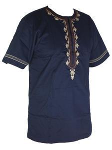 Image 2 - Ropa africana para hombre, ropa musulmana bordada, ropa Africana dashiki, novedad de 2019