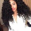 Brazilian Deep Wave With Frontal Closure Deep Curly Brazilian Hair With Frontal Closure 3 Bundles With Frontal Closure Deep Wave