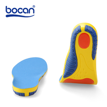 Bocan sport insoles shock absorption pads running sport shoes inserts breathable insoles foot health care for men and women 7755
