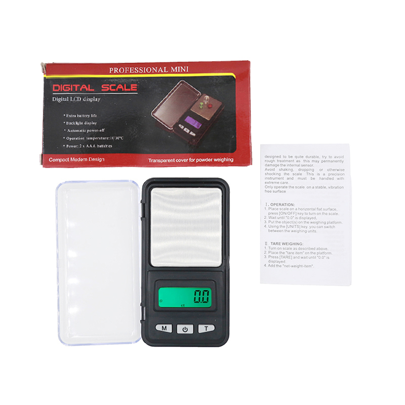 Digital Electronic digital 0.1g 500g Balance Weight Gram Scale LCD display with backlight for Jewelry Diamond