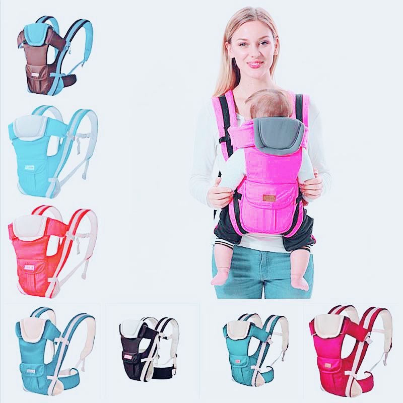 Baby Carrier 0-30 Months Breathable Front Facing Baby Carrier 4 In 1 Infant Comfortable Sling Backpack Pouch Wrap Baby
