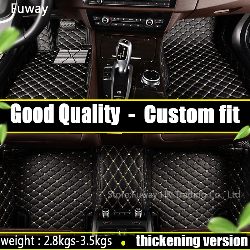 FUWAYDA Custom fit car floor mats for BMW i3 i8 M2 M3 M4 M5 M6 X1 X3 X4 X5 X5M X6M Z4 sDrive35is 730Li 740Le 740Le  carpet liner custom fit car floor mats for toyota camry corolla rav4 mark x crown verso fj cruiser l 3d car styling carpet floor liner ry59