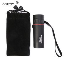 Monocular mini telescope Low Night Light Vision 30x25 Hunting Concert Mini Portable dropshipping
