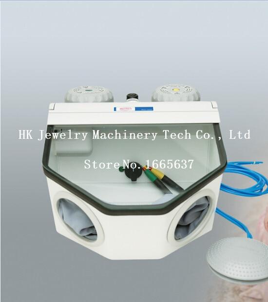 New Jewelry Electric Sandblaster for Sale Portable Sandblasting Machine with 2 Pens Jewelry Sandblasting Machine