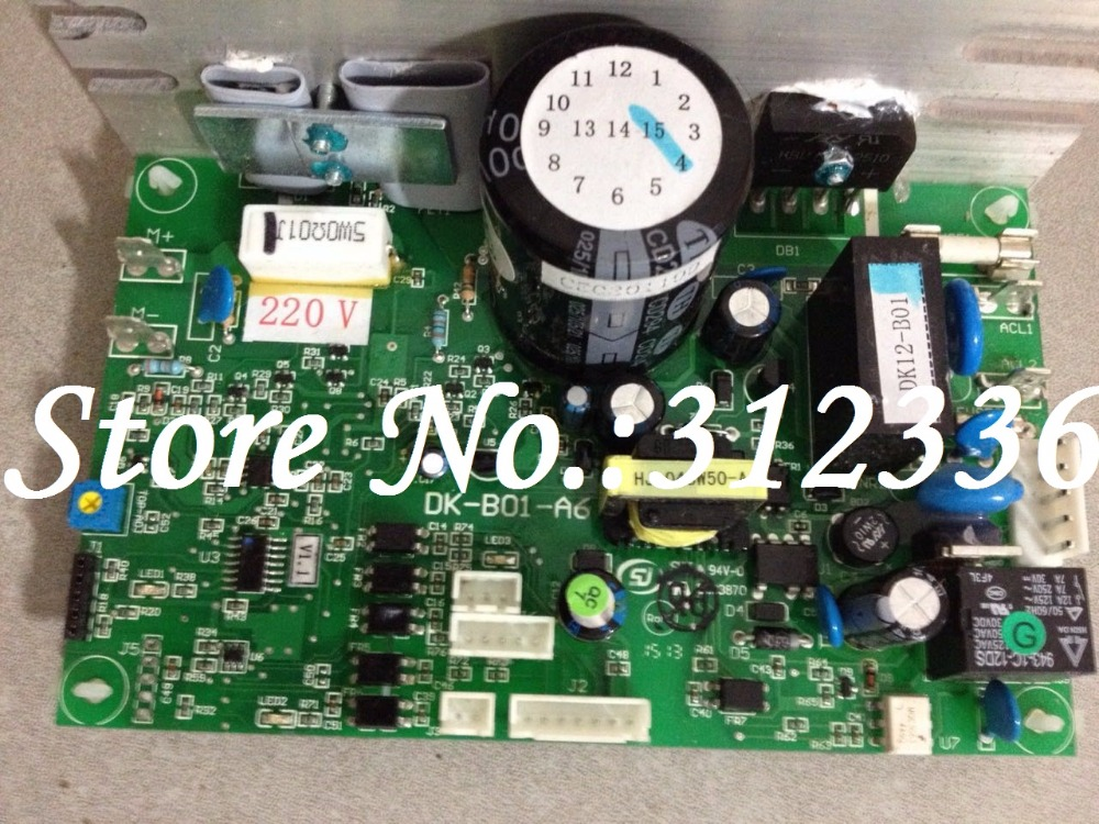 Free Shipping DK-B01-A6 1.25HP 1.5HP 1.75HP Motor controller optimal health treadmill circuit board can instead of DCMD57 DCMD67 free shipping motor controller shua 9119e optimal step health treadmill circuit board motherboard running machine accessories