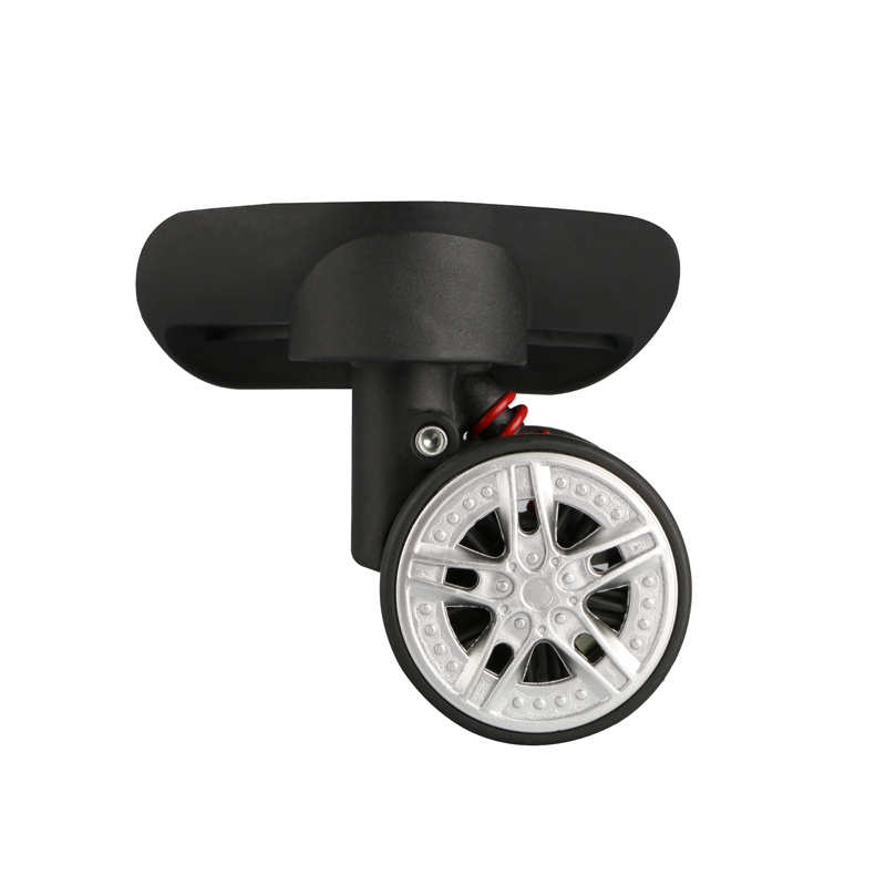 Mute Wheel pull rod box Wheels Accessories Casters Replacement Luggage Trolley Wheels Suitcase Parts Repair luggage casters in Bag Parts Accessories from Luggage Bags
