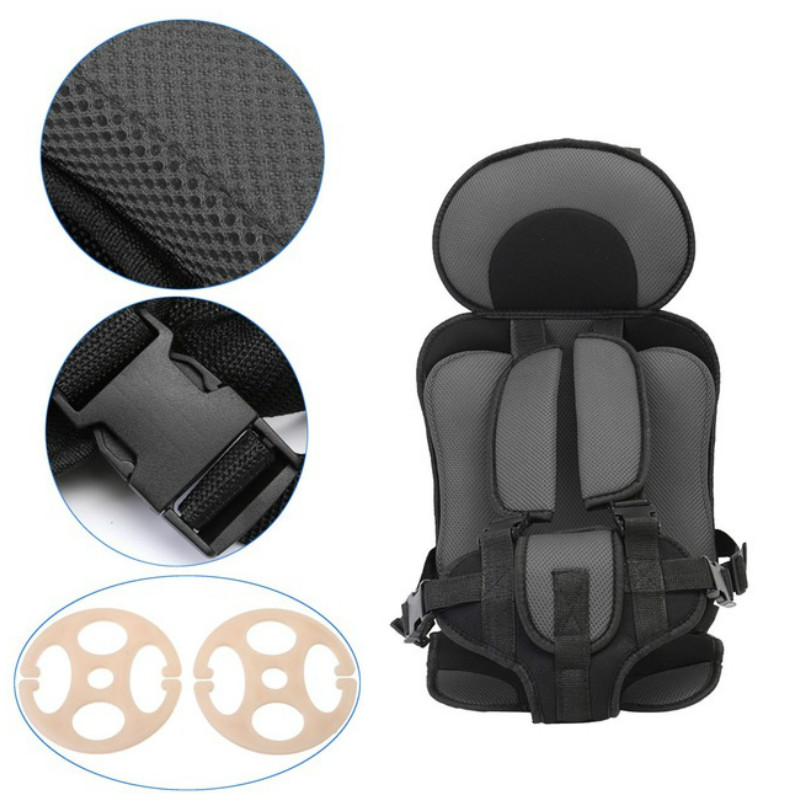 0 5 Year Baby Seats Simple Portable Toddler Baby Car Chair Thickening Sponge Adjustable Kids Car Stroller Booster Seat in Baby Seats Sofa from Mother Kids