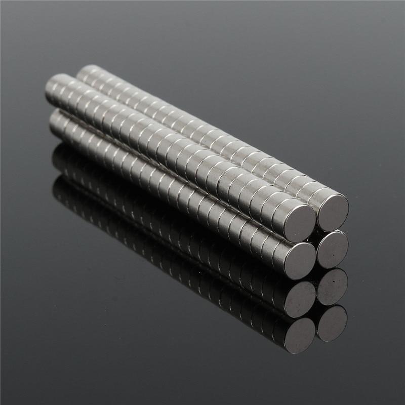 Best Price 100pcs Round NdFeB Neodymium Disc Magnets Dia 6mm x 3mm N50 Super Powerful fridge art craft Magnet